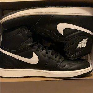 Air Jordan Retro 1 OG Black/White